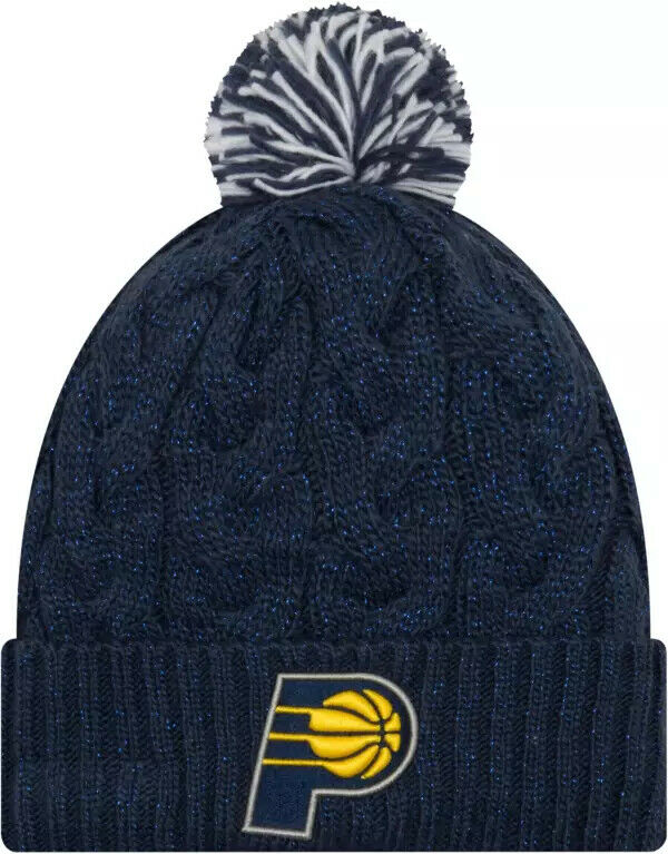New Era Women's Indiana Pacers NBA Cozy Knit Winter Hat