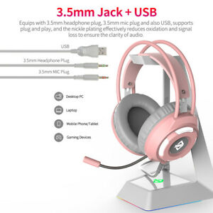 Gaming Headset Ajazz Ax120 7 1 Channel Stereo For Mobile Phones Laptops S3x7 Ebay