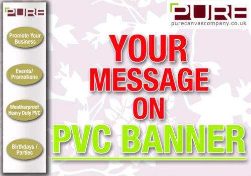 6 Pies X 2,5 ft Full Color Pvc Vinilo Banner