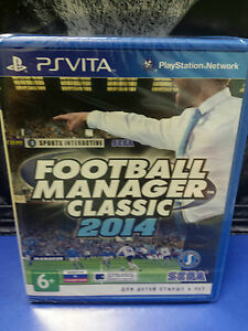 Details about Football Manager Classic 2014 PS Vita NEW / SEALED