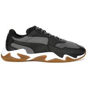 PUMA Men's Storm Pulse Puma Black/CastleRock Sneakers 36979601 NEW!