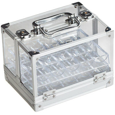 Chip Case Only 600-Piece Acrylic Chip Case