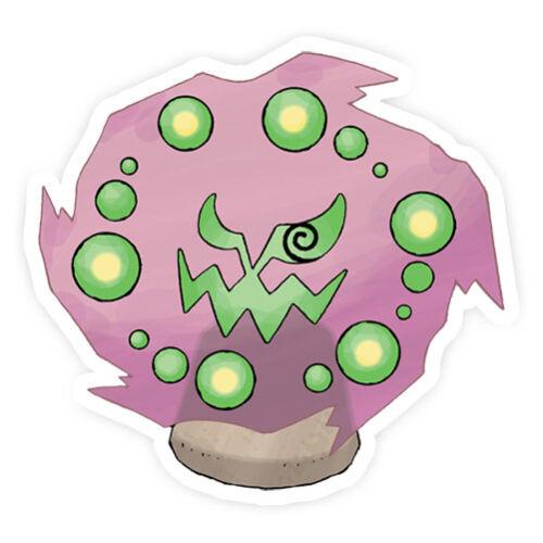 Spiritomb  Pokemon Go Pokemon Waterproof Self Adhesive Vinyl Sticker