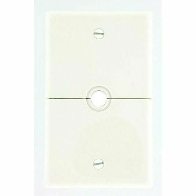 Leviton Light Switch Cover 4 Gang Toggle Switch Plate Cover Brown 85012 NEW