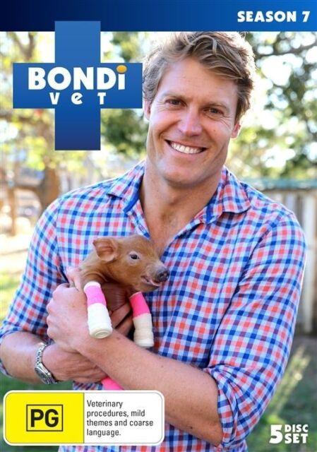 Bondi Vet : Series 7 (DVD, 2016, 5-Disc Set) BRAND NEW