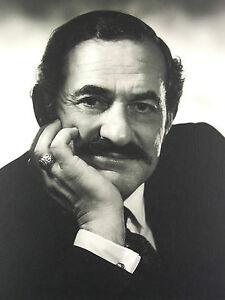 Adroit Arnold Abner Newman (1918-2006) Photo Originale Photographie Acteur Americain ?