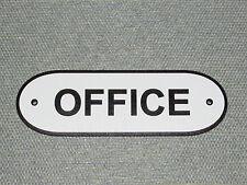 OFFICE Door Sign Black & White
