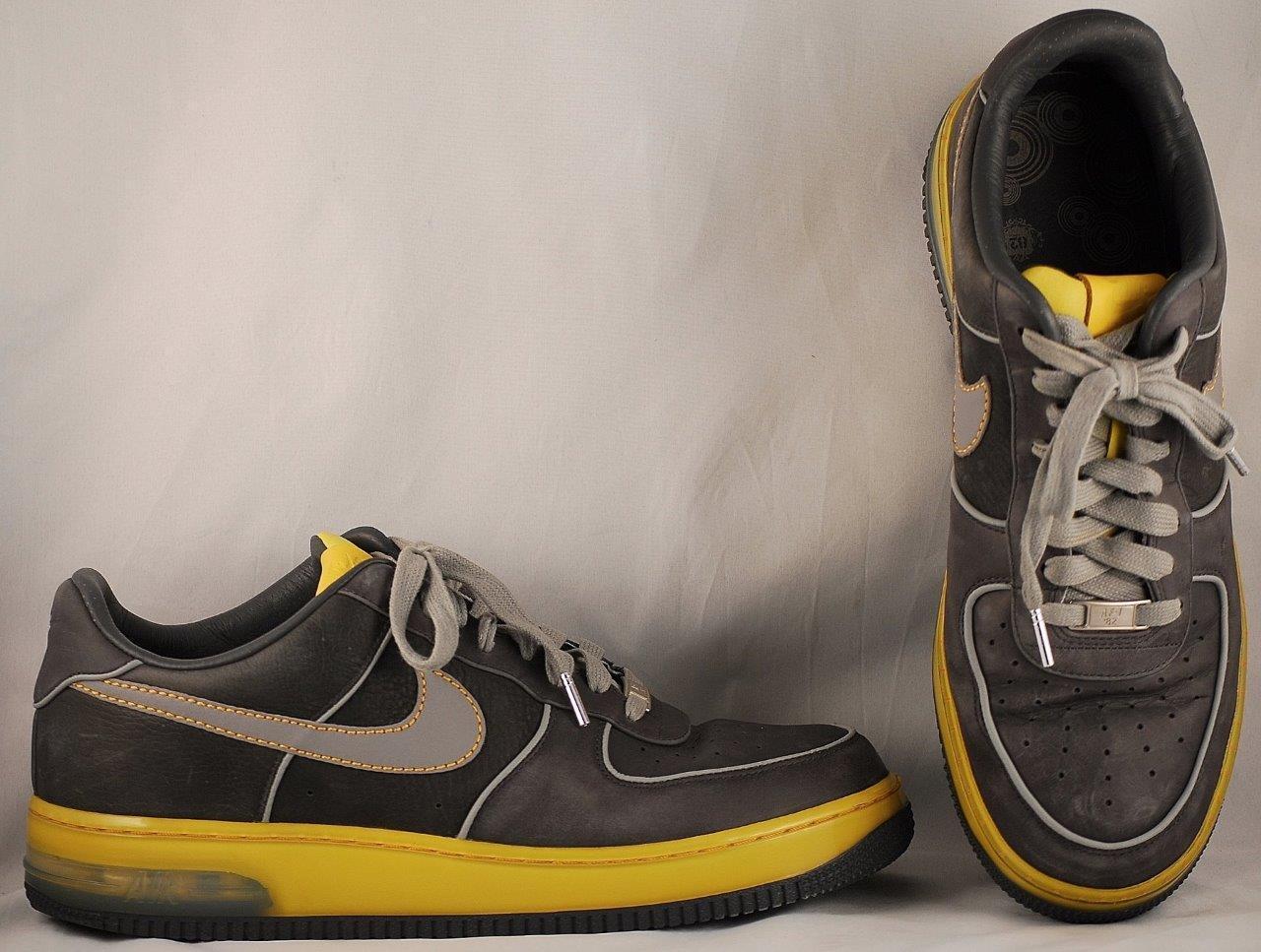 Men's Nike Black Sneakers Air Force 1 Sneakers Black US 11.5 775247