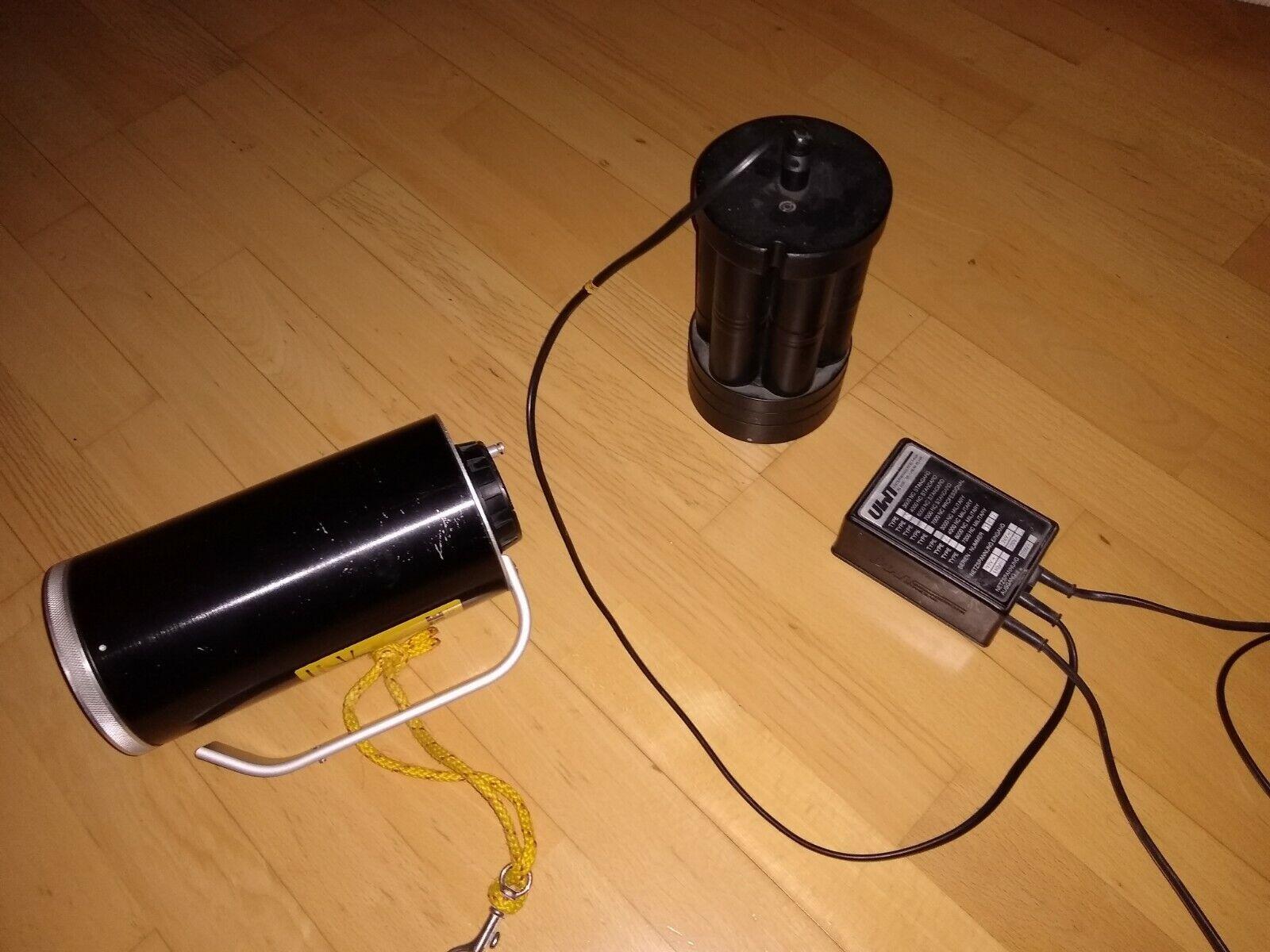 Tauchlampe Unterwasserlampe UW-Lampe Blase 4000NC