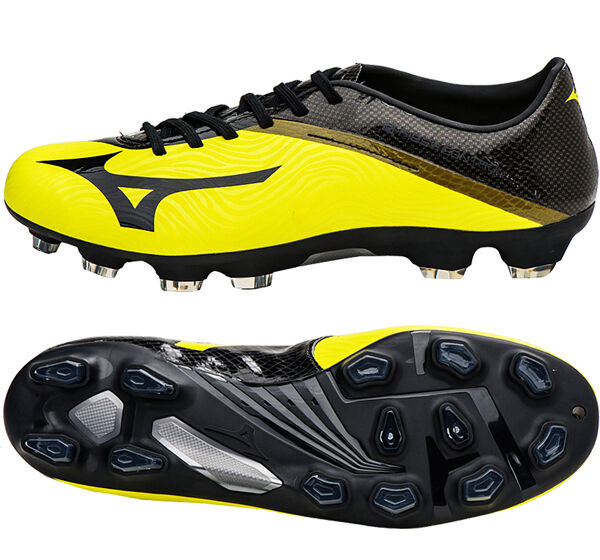 Mizuno Cleats BASARA 102 MD P1GA166309 Soccer Cleats Mizuno Football Schuhes Stiefel Gelb 7334da