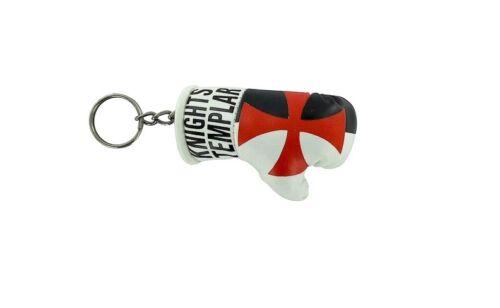 Mini boxing gloves keychain keyring flag remote key fob flag knights templar
