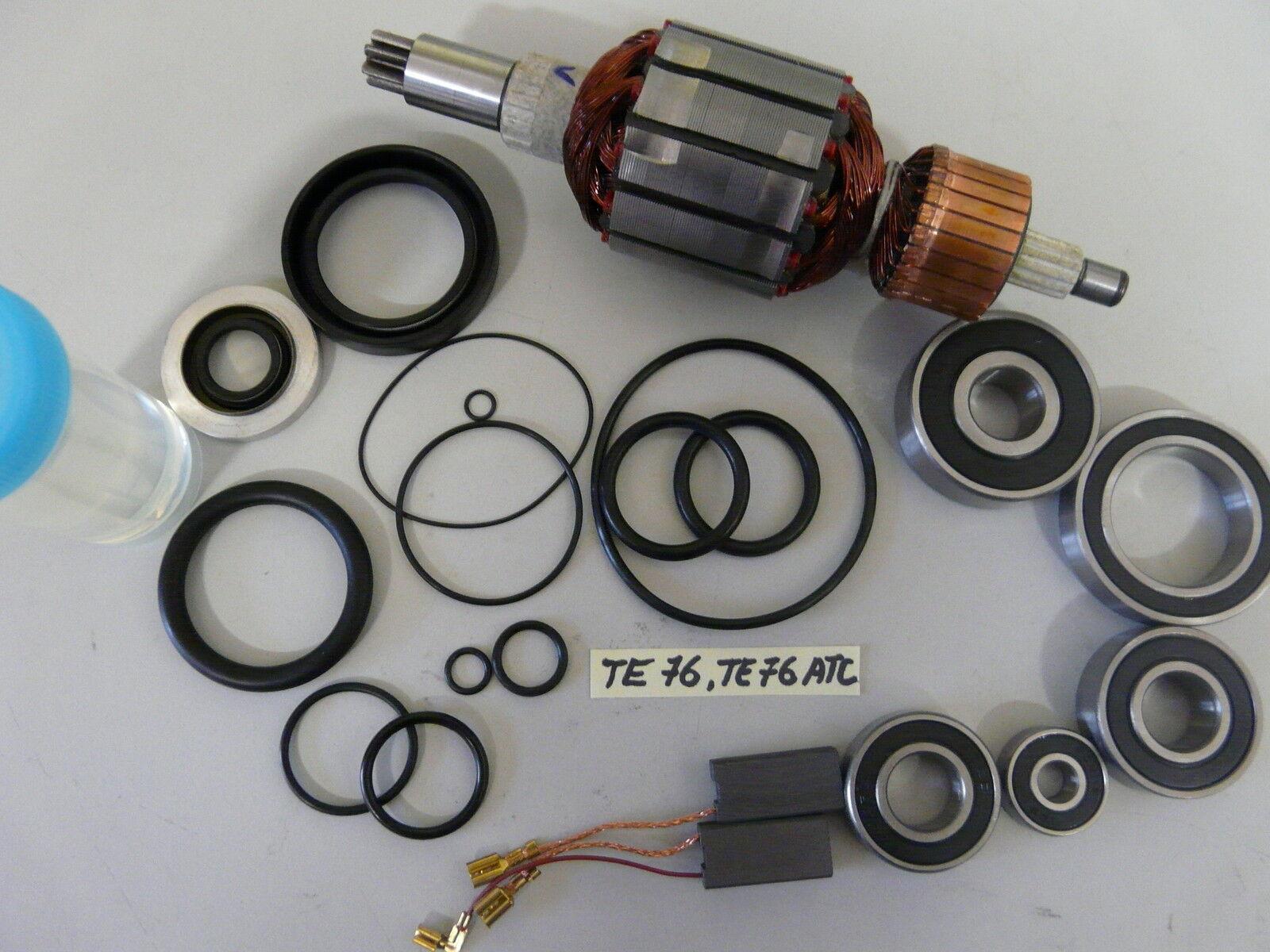 Hilti TE 76  Anker, Rotor und Reparatursatz, Verschleissteilesatz, Wartungset