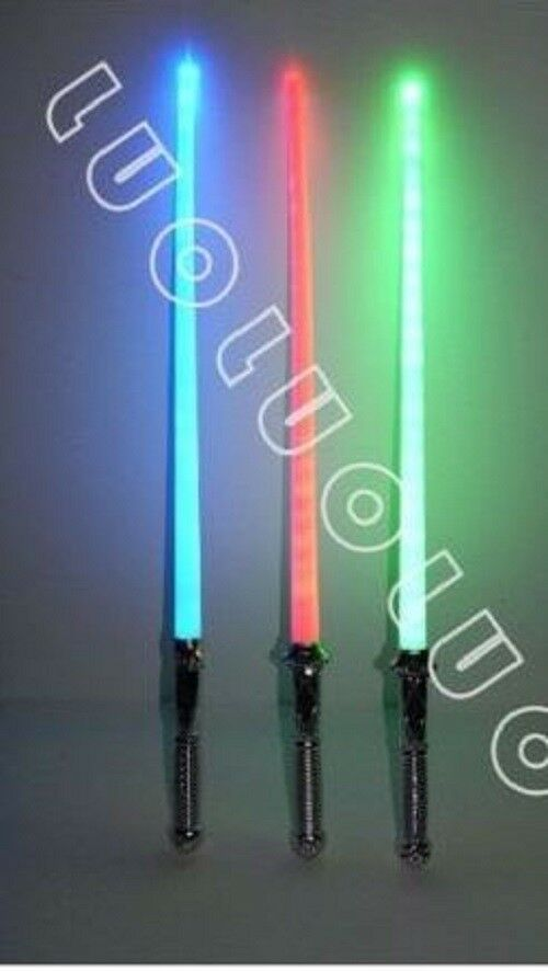 LOT OF 2 STAR WARS LIGHTSABER LIGHT SABER SWORD TOY BEST PRICE
