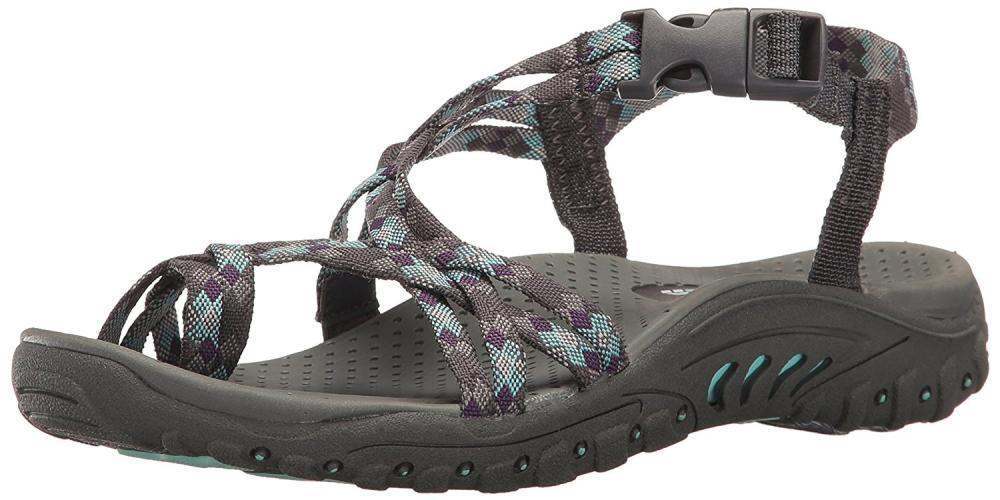 Skechers Wouomo Reggae Jamrock Toe Ring Sandal