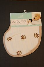 Anais Burpy Bib And Burp Cloth-All In One 11in Brand New Aden