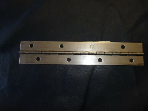 """MARINE BOAT STAINLESS STEEL PIANO HINGES PAIR 20323 8/"""" X 1 1//2/"""" 2"""