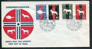 Suriname FDC E24_  3 M, blanco ;