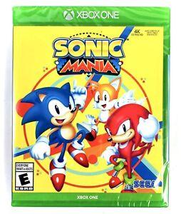 Sonic Mania Xbox One [Brand New Video Game] Factory Sealed Microsoft XB1 Sega