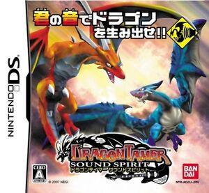 Used-Nintendo-DS-Dragon-Tamer-Sound-Spirits-Japan-Import-Free-Shipping