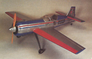 1//4 Scale Sukhoi Su-26 Aerobatic Plane Plans,Templates and Instructions 76ws