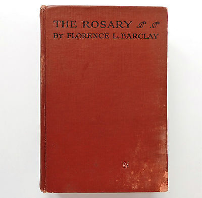 The Rosary by Florence Barclay 1940s wartime book WW2 romance Edwardian novel