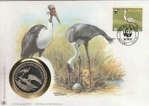Numisbrief WWF 1987 Malawi - Bugeranus Carunculatus / Kraanvogel (056)