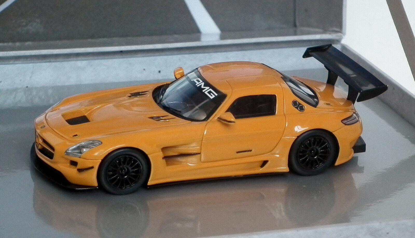 Mercedes Benz Spark Concessionnaire Ed SLS AMG GT3 Orange 1  De 500 1 43 Coffret B6 605 5559  magasin en ligne