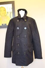 NWT J Crew Men's Tall Dock Peacoat w Thinsulate NAVY XL Extra Large 05535 $318