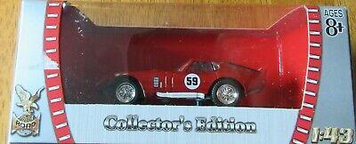 1965 Shelby Cobra Daytona #59 Red 1//43 Diecast Car by Road Signature