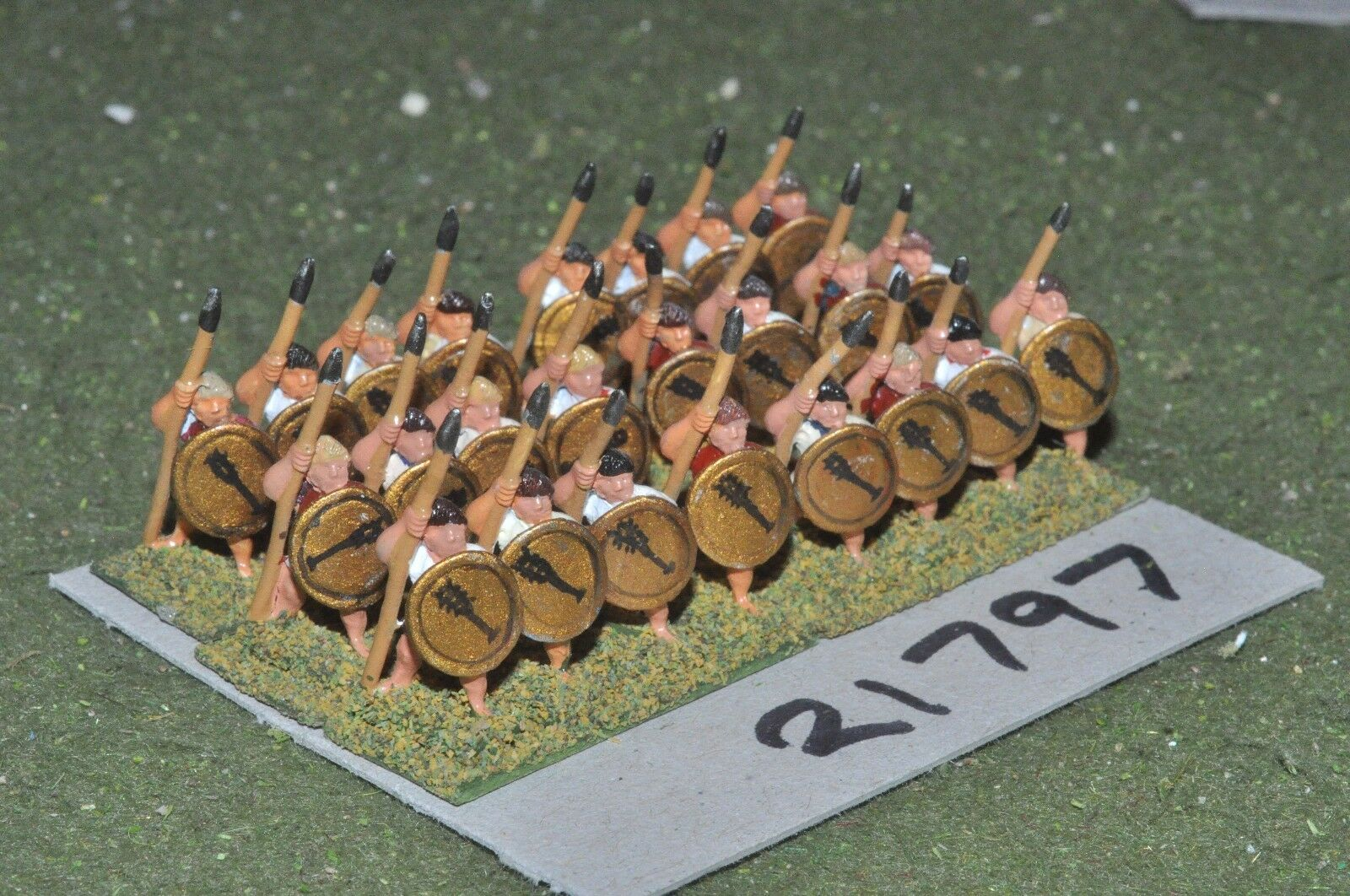 15mm classical   greek - hoplites 24 figs infantry - inf (21797)
