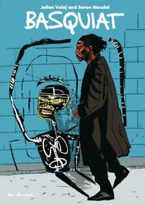 JEAN-MICHEL-BASQUIAT-034-BASQUIAT-034-GRAPHIC-NOVEL-BIOGRAPHY-IMPORTED-FROM-THE-UK