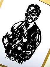 "ARNOLD SCHWARZENEGGER, Predator,Pop Art 3½"" X 6"" inches Vinyl sticker portraits."