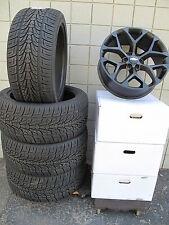 "22"" Chevrolet Tahoe Factory Style Matte Black Wheels 5668 Tires Nexen 2854522"