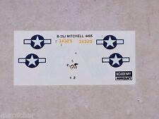 DECALS ACADEMY 1/144ème B-25J MITCHELL