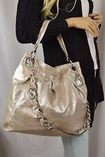 NWOT COACH  Madison Metallic Hippie Leather Convertible Cross Body Bag