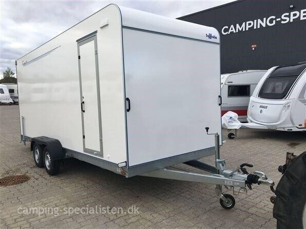Trailer, Selandia Tomplan TP 550 TFR/ Rampe, lastevne