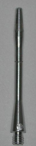 2 Sets Aluminum CENTER SPIN - SILVER MEDIUM Premium spinning dart shafts