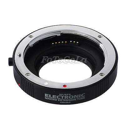 Electronic auto focus macro extension tube 13mm EF-13 II for Canon EOS EF EF-S