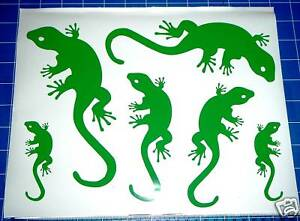 6-GECKOS-window-baby-kids-room-wall-art-car-caravan-stickers-decals-26-colours