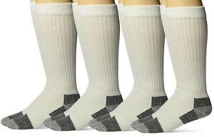 Carolina Ultimate Mens Big /& Tall Sport Crew Cushion Work Mid-Calf Socks 4 Pair
