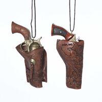 Western Holster & Gun Ornament