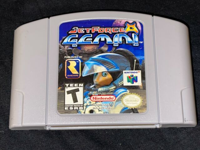 Jet Force Gemini (Nintendo 64, 1999) Cleaned / Tested / Authentic N64