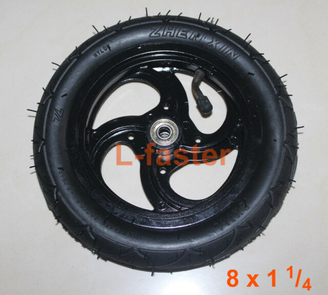 """8x1 1//4 Pneumatic Wheel Inner Tube 8/"""" Air Wheel Outer Tire 8x1.25Inflatable Tyre"""