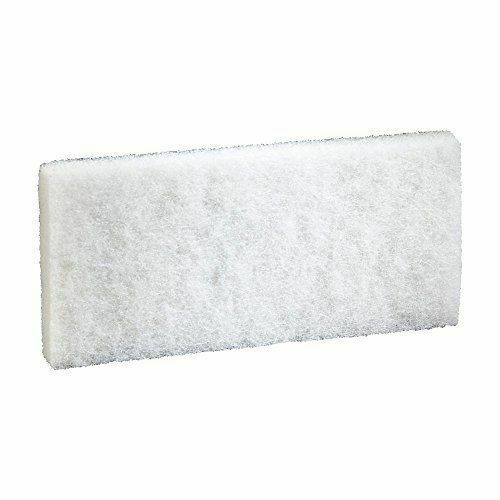 3M Generic Doodlebug White Cleaning Pad 8440 4.6 in x 10 in 5//box 1 Case