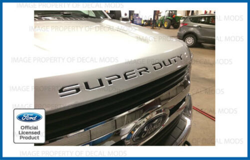 2018 Ford F250 F350 Super Duty Hood Grille Letters Sticker Inlays Decals Overlay