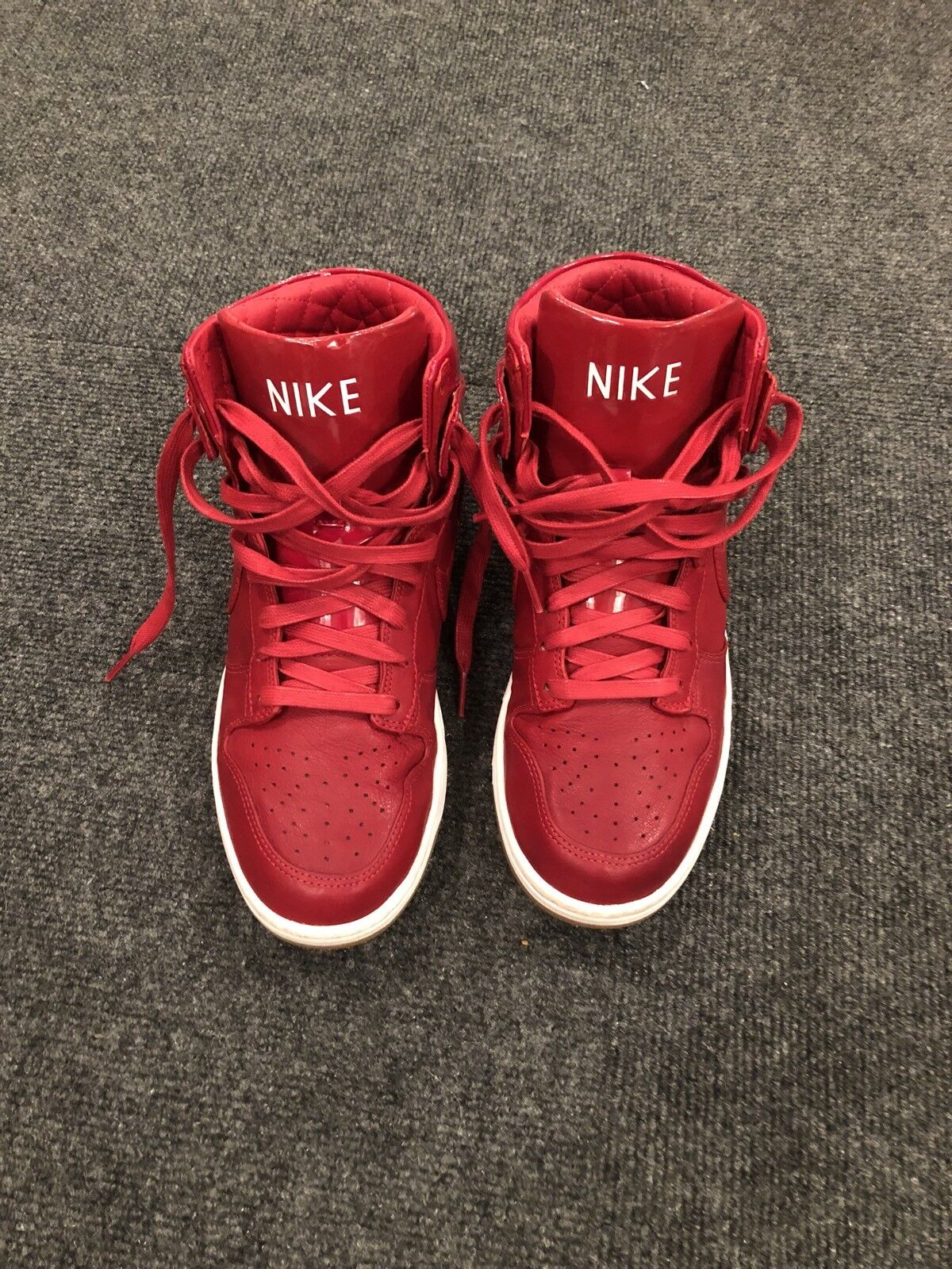 Nike Dunk Lux SP Red Mens Comfortable Special limited time
