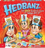 Hedbanz Game: The Quick Question Game Of What Am I For Kids Spin Master