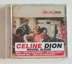 CD-ALBUM-NEUF-CELINE-DION-RARE-STICKER-SUR-BOITIER-TOUT-L-039-OR-DES-HOMMES