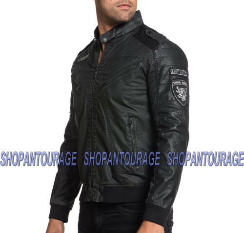 Black 110ow269 Moto Moon Jacket Men's Affliction New 86H6n