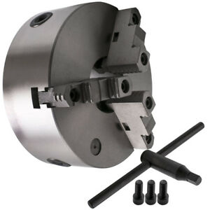 Self-Centering-Lathe-Chuck-3-Jaw-8-inch-for-Milling-K11-200A-Hardened-Steel